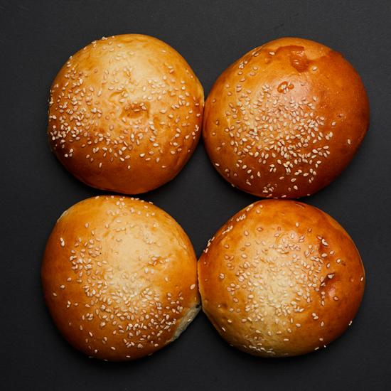 Extra szezámos hamburger buci (4 db)